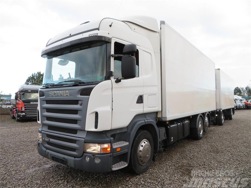 Scania R340 6x2 Euro 4 Thermo King + DAPA 2 akslet Therm