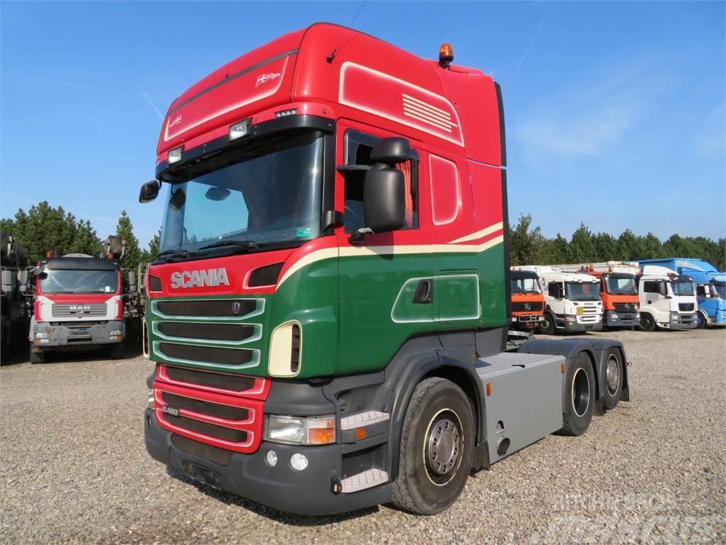 Scania R480 6x2 Hydr. Topline Euro 5