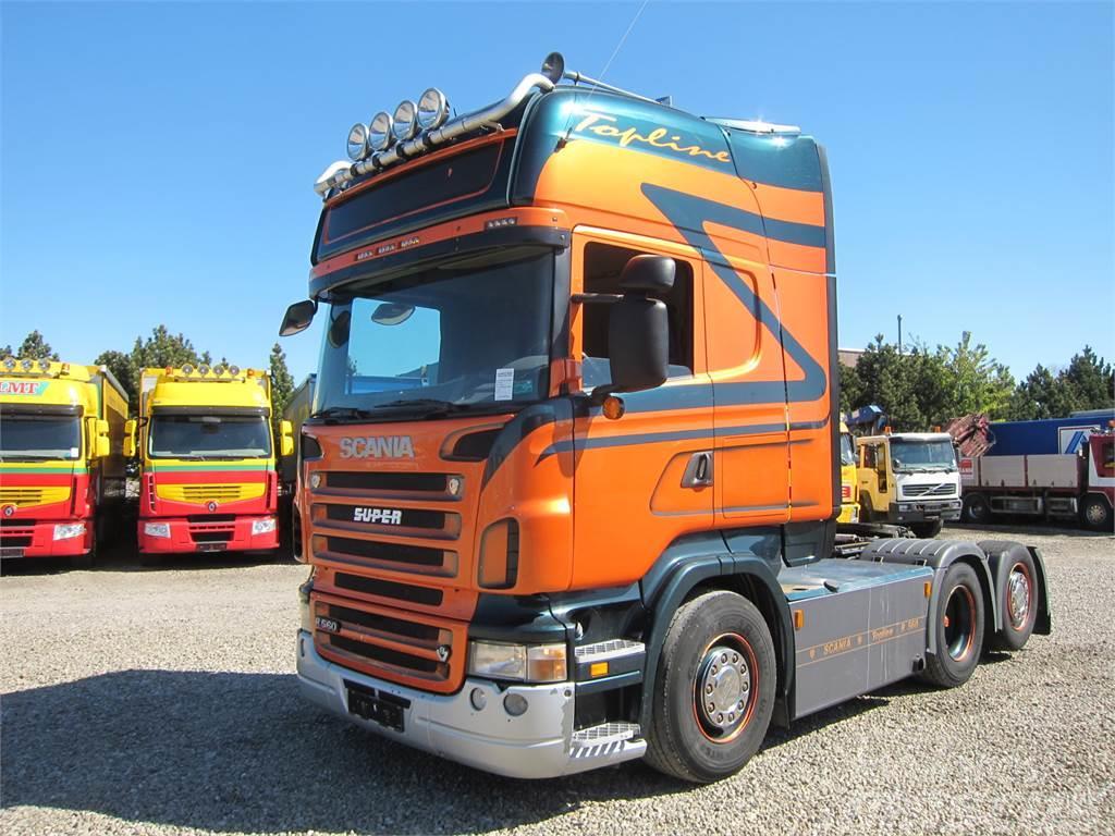 Scania R560 6x2 Hydraulik