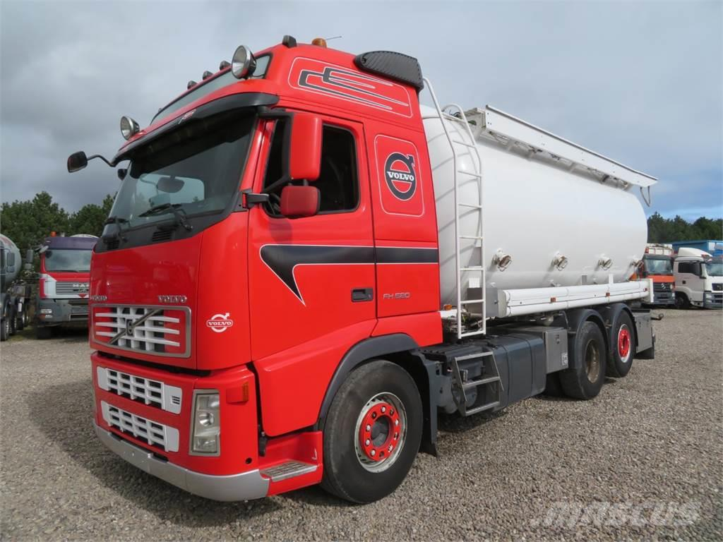 Volvo FH520 6x2*4 28 m3 Silo Euro 5