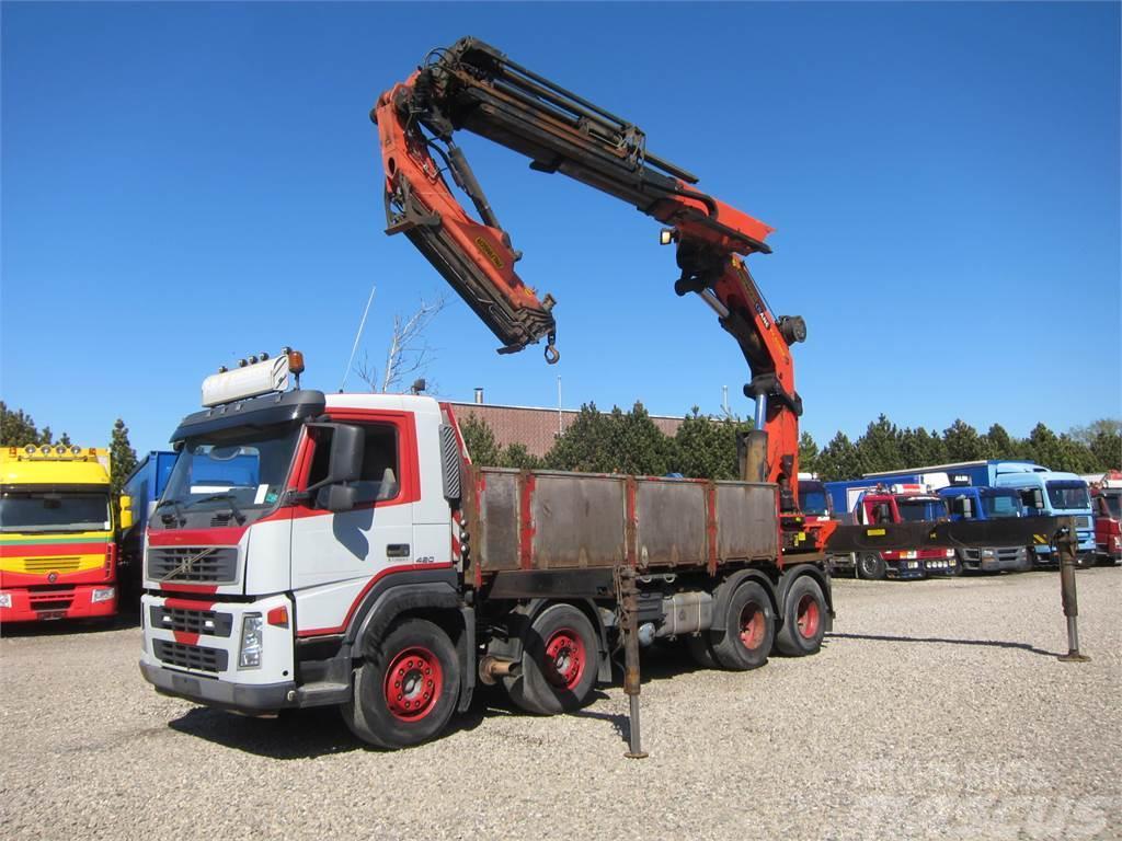 Volvo FM12-420 8x4 Palfinger PK60002 Flyjib