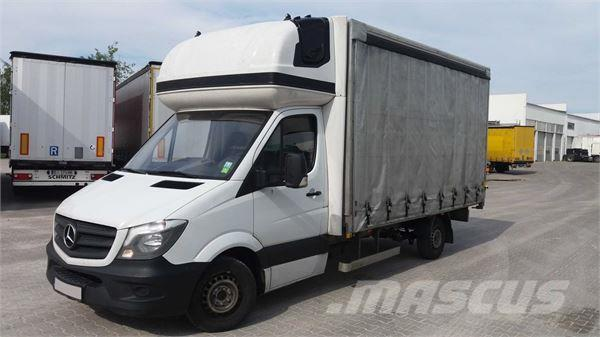 Used mercedes benz sprinter curtain side trucks year 2015 for Mercedes benz conversion van price