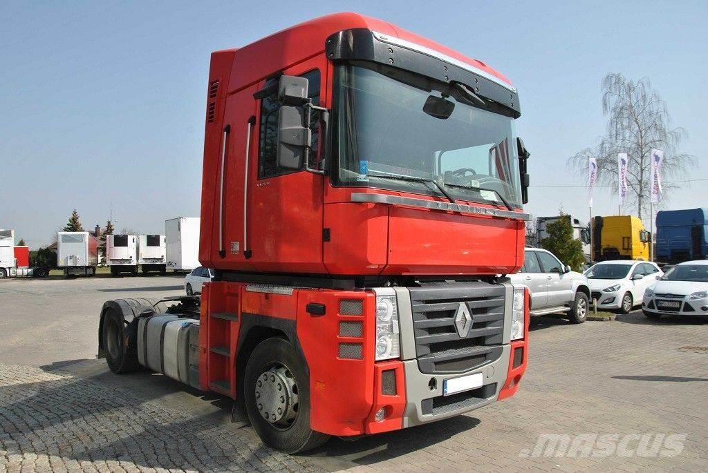 renault magnum occasion prix 23 239 ann e d 39 immatriculation 2011 tracteur routier. Black Bedroom Furniture Sets. Home Design Ideas