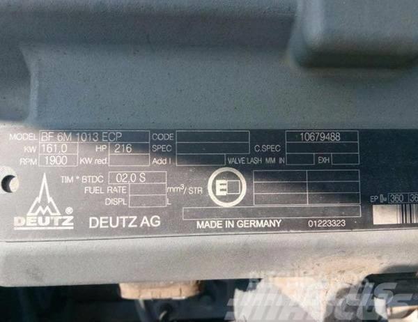 Deutz BF6M1013ECP ENGINE FOR EXCAVATOR