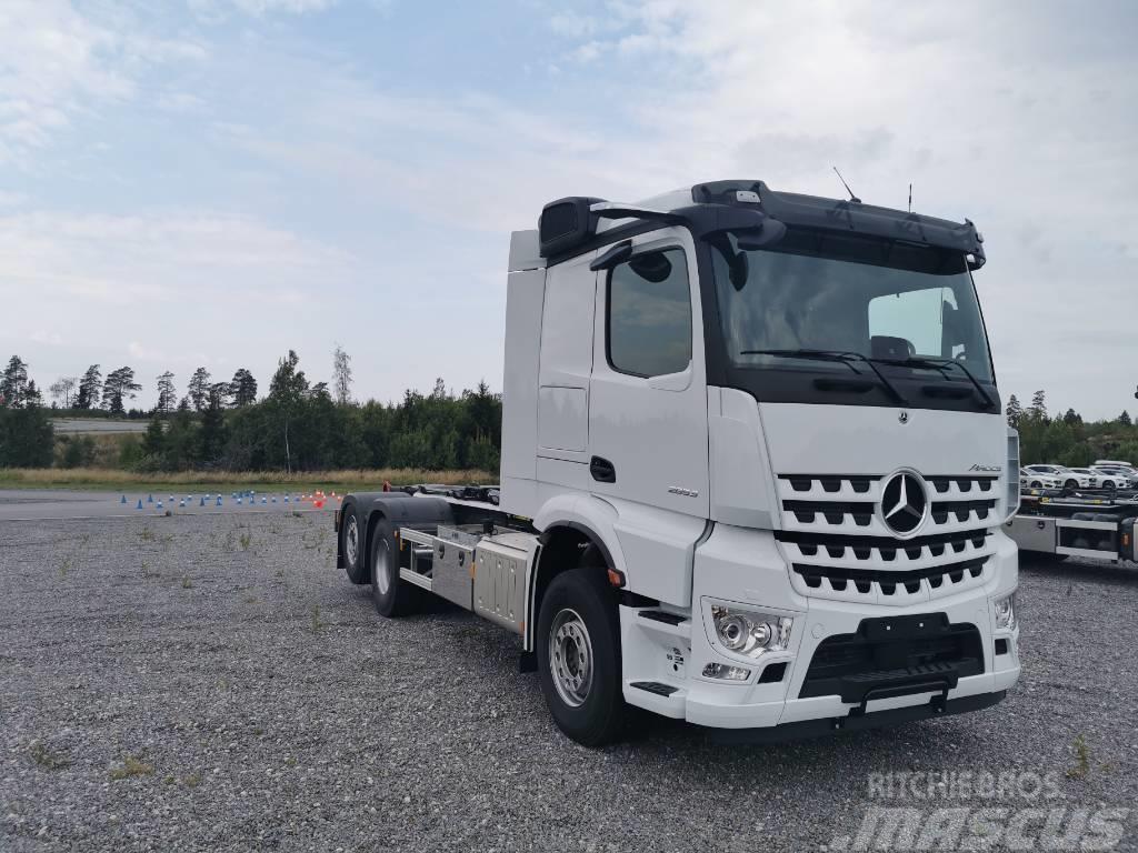 Mercedes-Benz Arocs 2853 L omgående leverans