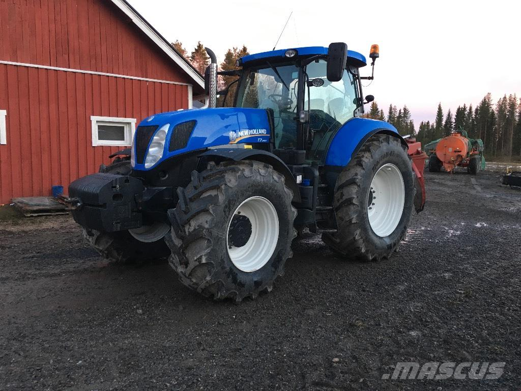 New Holland T 7.250 PC Sidewinder