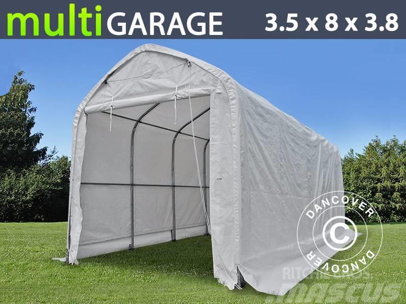 Dancover Storage Shelter 3,5x8x3x3,8m PVC, Telthal