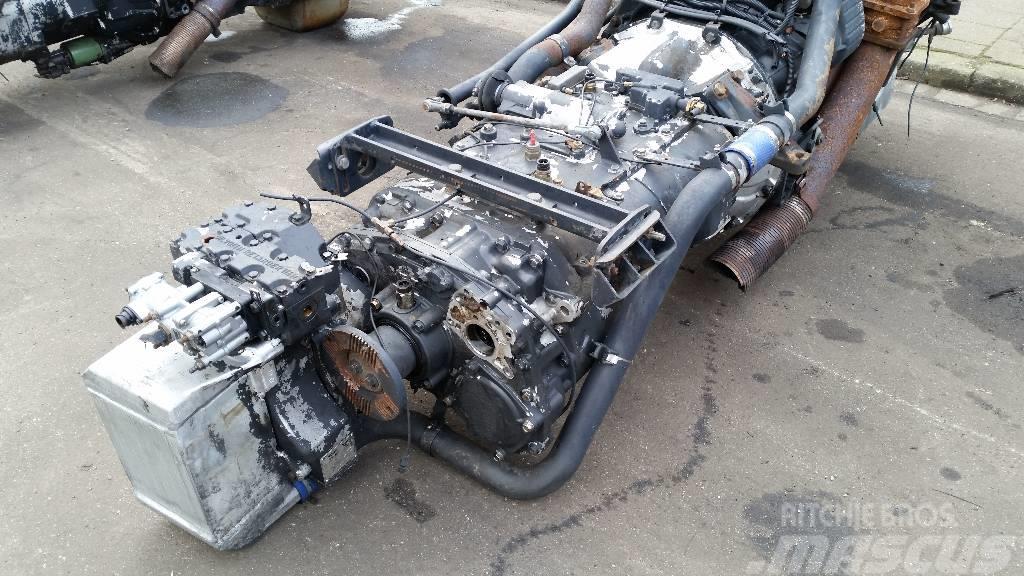 MAN D2866LF20, Motorer
