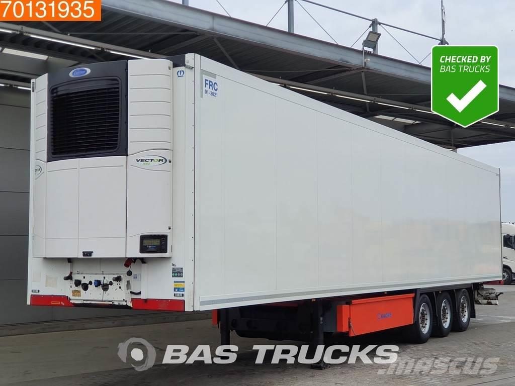 Krone Carrier Vector 1550 3 axles Doppelstock Liftachse