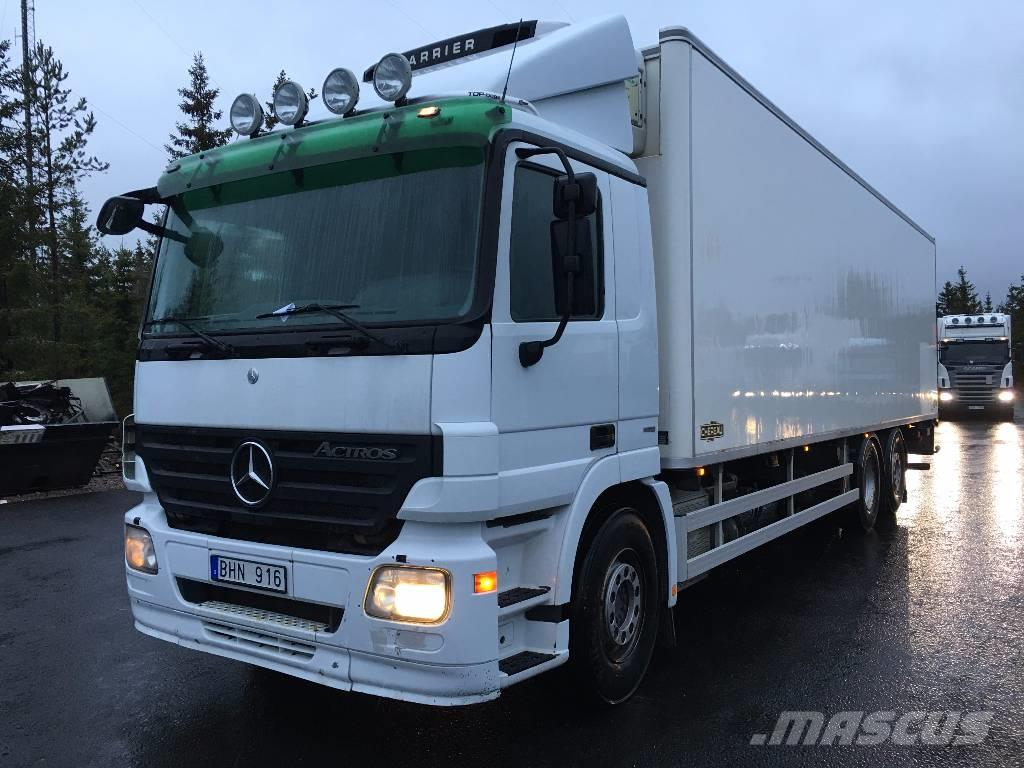 Used mercedes benz actros 2541 reefer trucks year 2008 for Mercedes benz astros