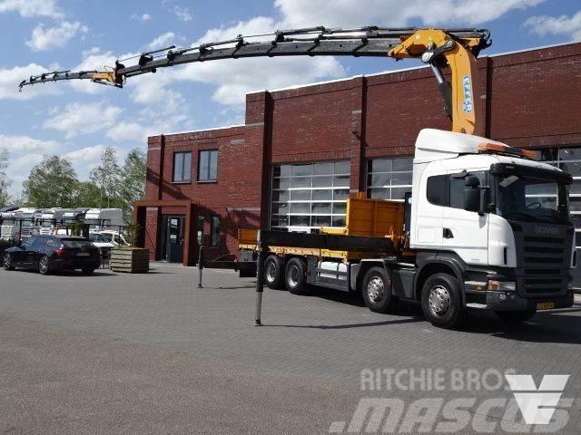 Scania R420 CB8x4HNA EFFER Crane 850H/8S + JIB 6S