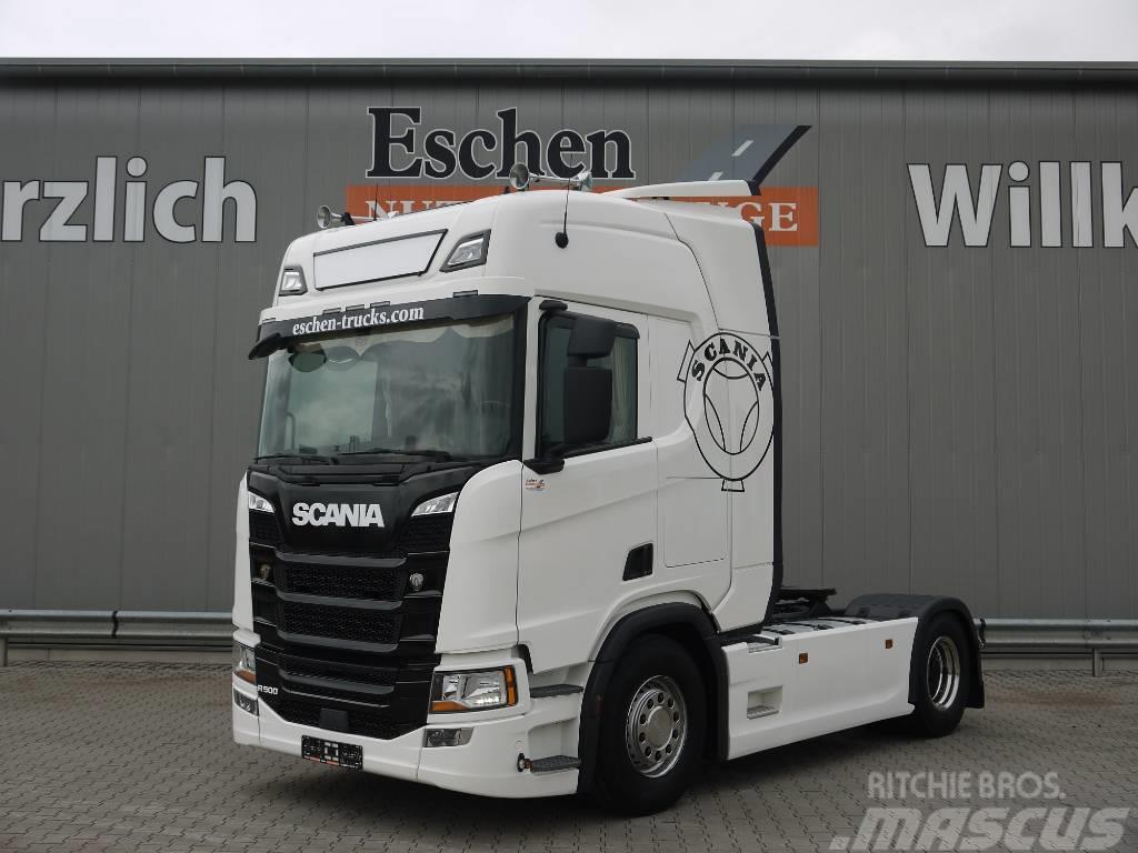 Scania R500, Euro 6, Retarder