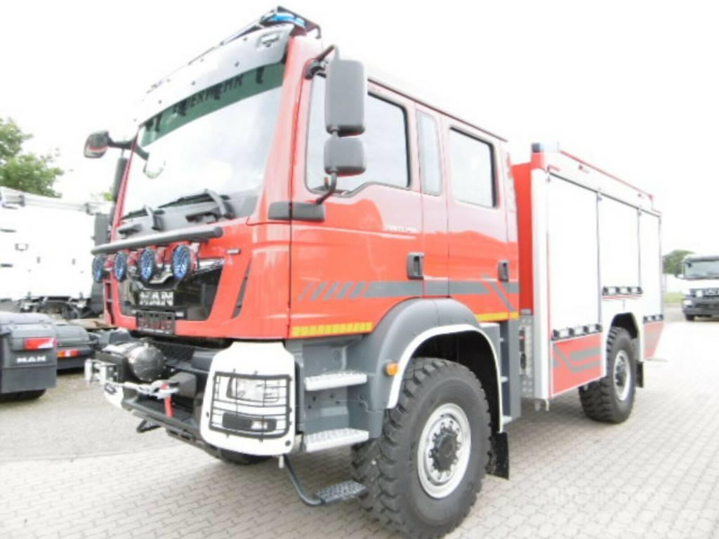 MAN TGM 13.290 FIRE TRUCK 4x4 BB LÖSCHFAHRZEUG EURO 6