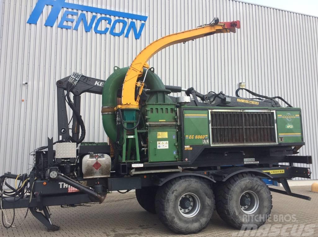 [Other] Dutch Dragon, axsel EC 6060, woodchipper, holzhack