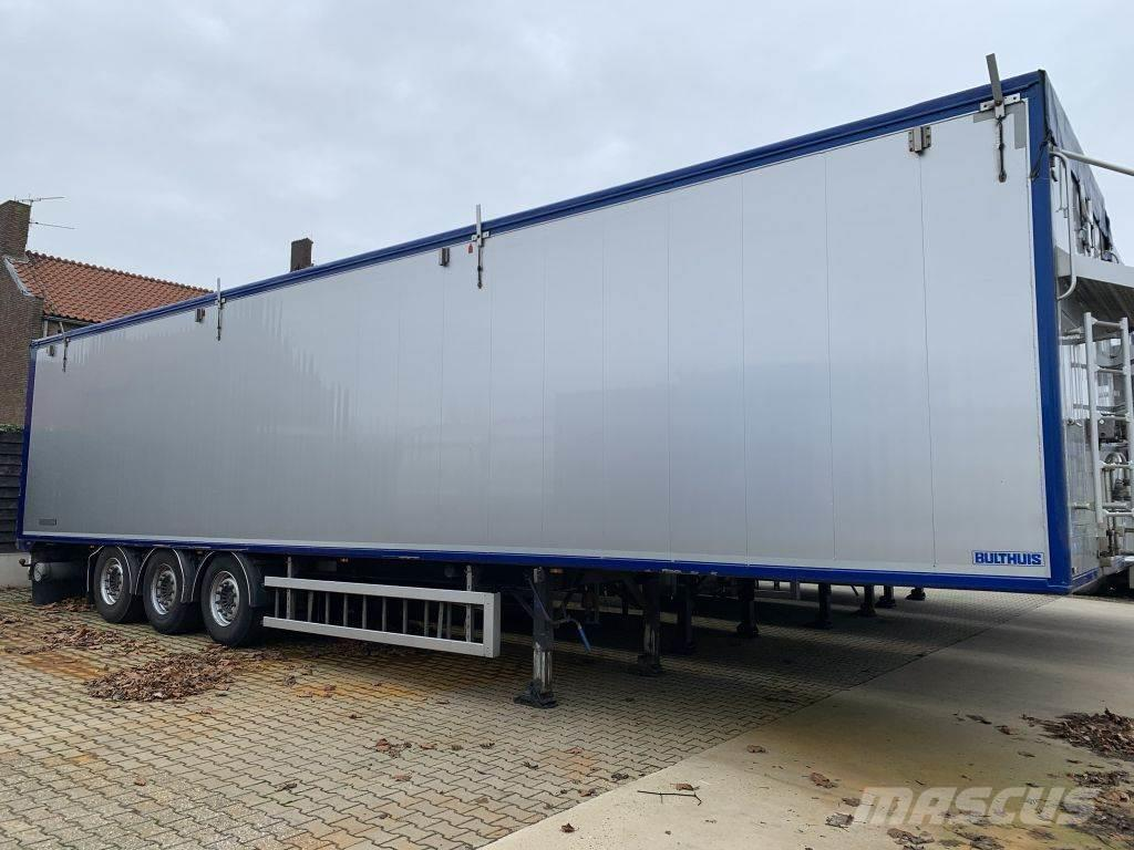 Bulthuis 2x TAWA01 92m3 Cargo Floor 10MM Liftachse 7.330 KG