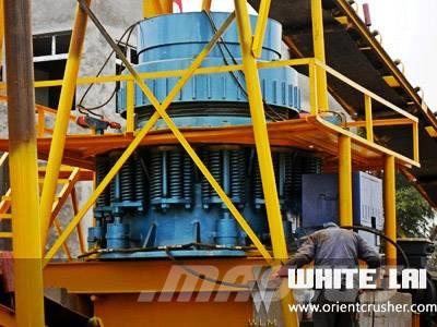 White Lai Stone Rock Crushing Machine Cone Crusher WLC1300