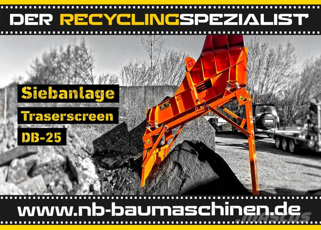 DB Engineering DB-25 Mini Siebanlage   Flachdecksieb   Miete