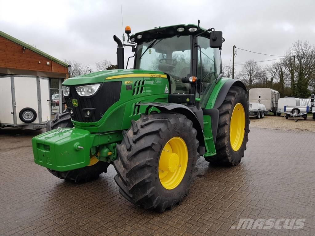 used john deere 6155 r tractors year 2017 price 103 387 for sale mascus usa. Black Bedroom Furniture Sets. Home Design Ideas