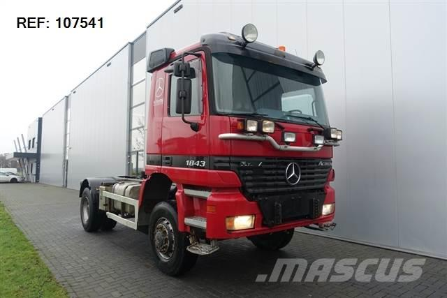 Mercedes-Benz ACTROS 1843 4X4 HUB REDUCTION FULL STEEL