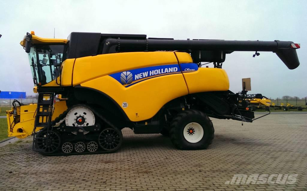 New Holland CR 9080 SCR hevederes