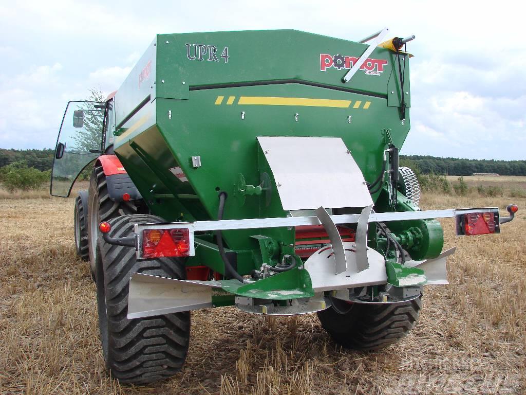 Pomot UPR 4, Fertilizer and lime spreader, Universal