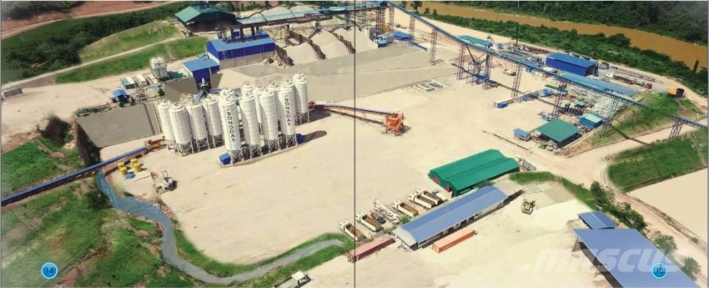 Liebherr Betomix 4.5 RCC batching plant