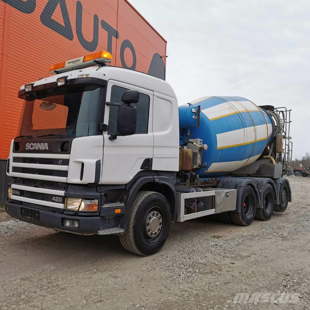 Scania P 124 8x4