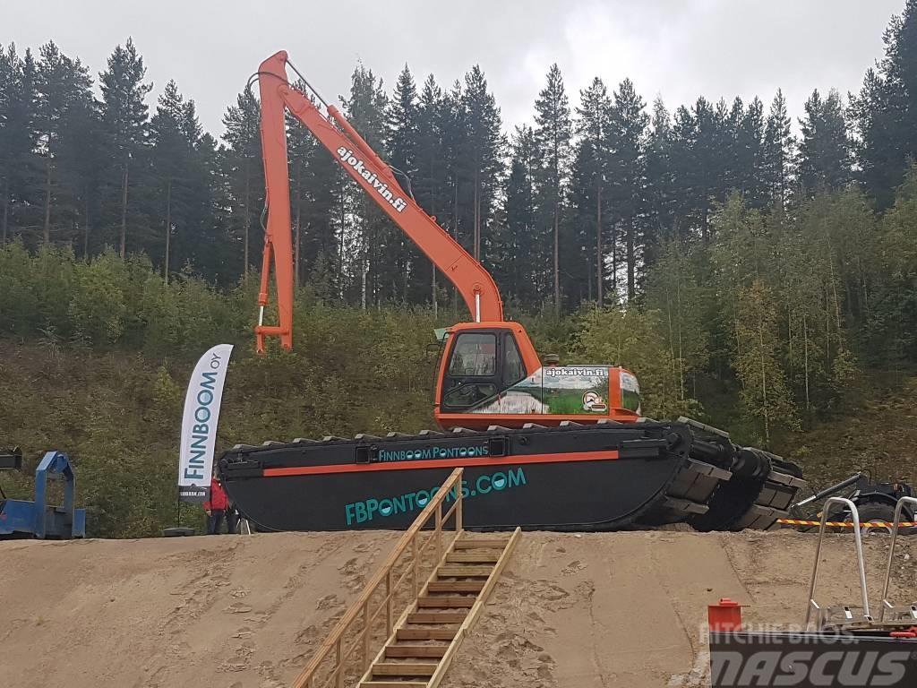 Finnboom Pontoons M - XXXL, 2017, Amphibious Excavators