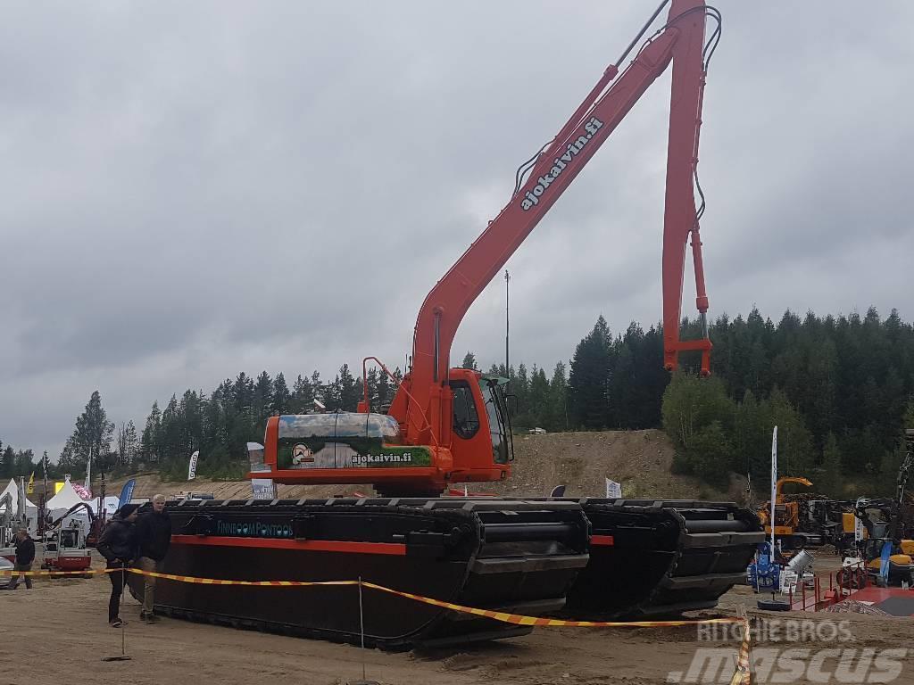 Used Finnboom Pontoons M Xxxl Amphibious Excavators Year