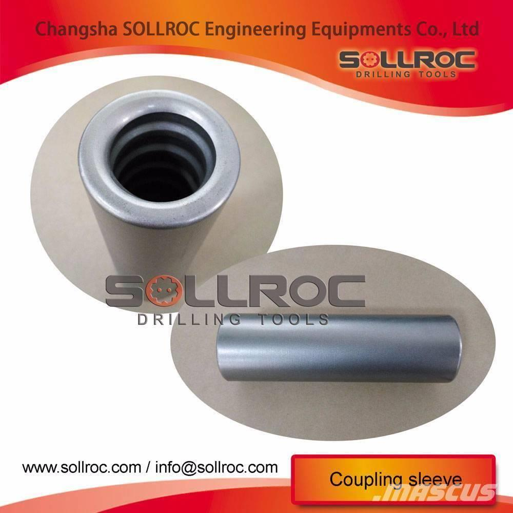 Sollroc Coupling sleeves for tophammer drilling