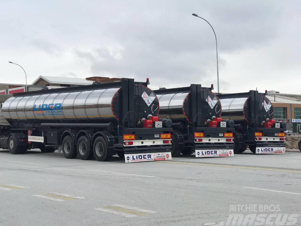 Lider Bitumen tanker semi trailer
