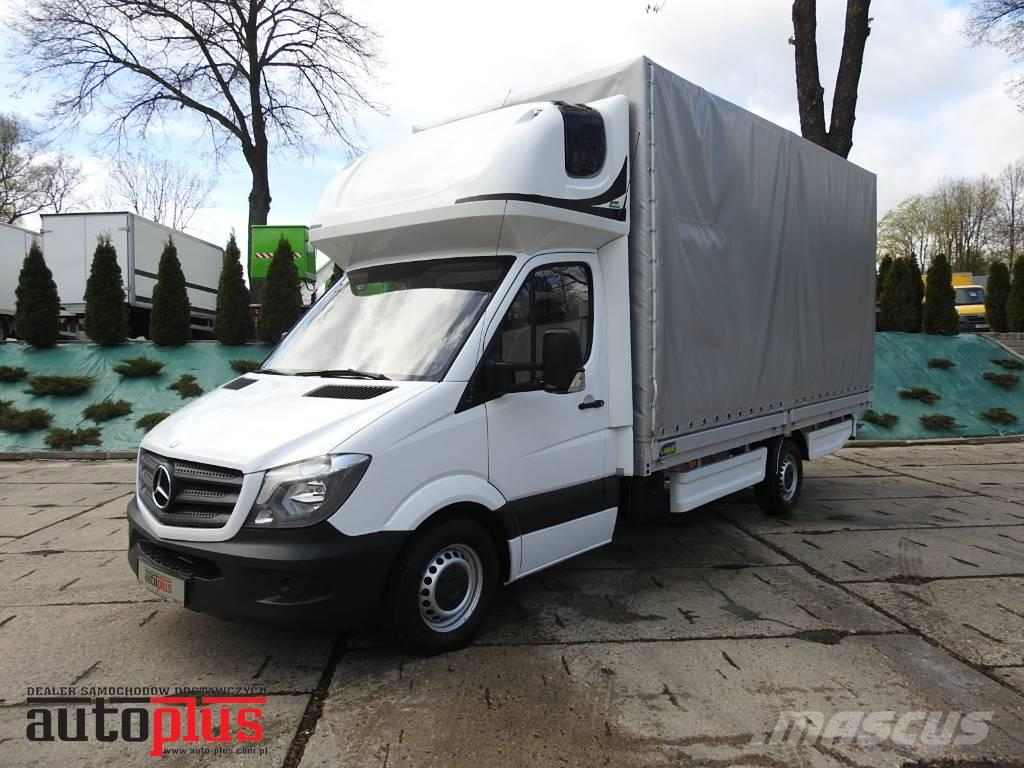 used mercedes benz sprinter 316 plandeka 10 palet webasto a c navi pickup trucks year 2013. Black Bedroom Furniture Sets. Home Design Ideas
