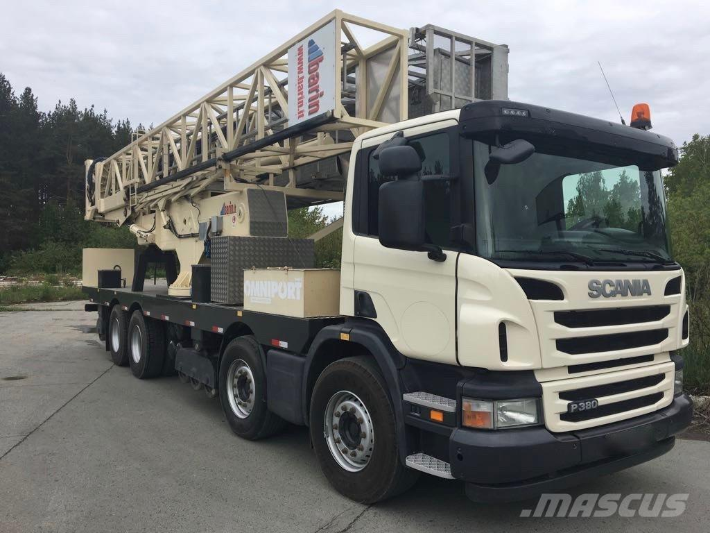 Scania P 380+ BARIN ABC180/LS - BRIDGE INSPECTION UNIT