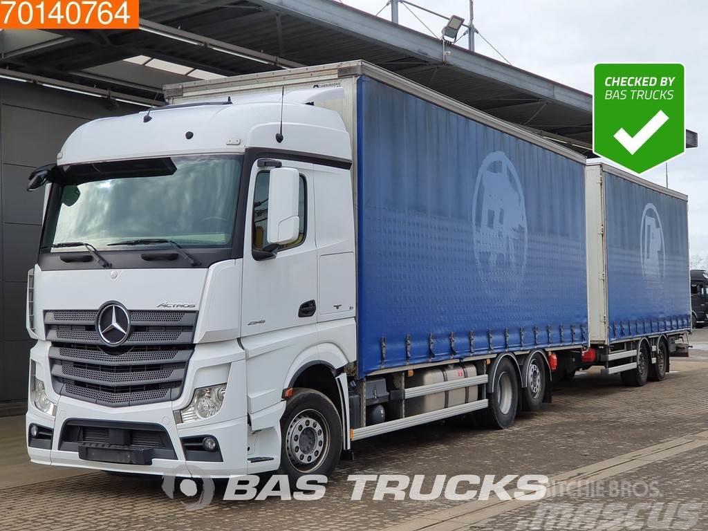 Mercedes-Benz Actros 2545 LS 6X2 DurchladeSysteem Liftachse 2x T