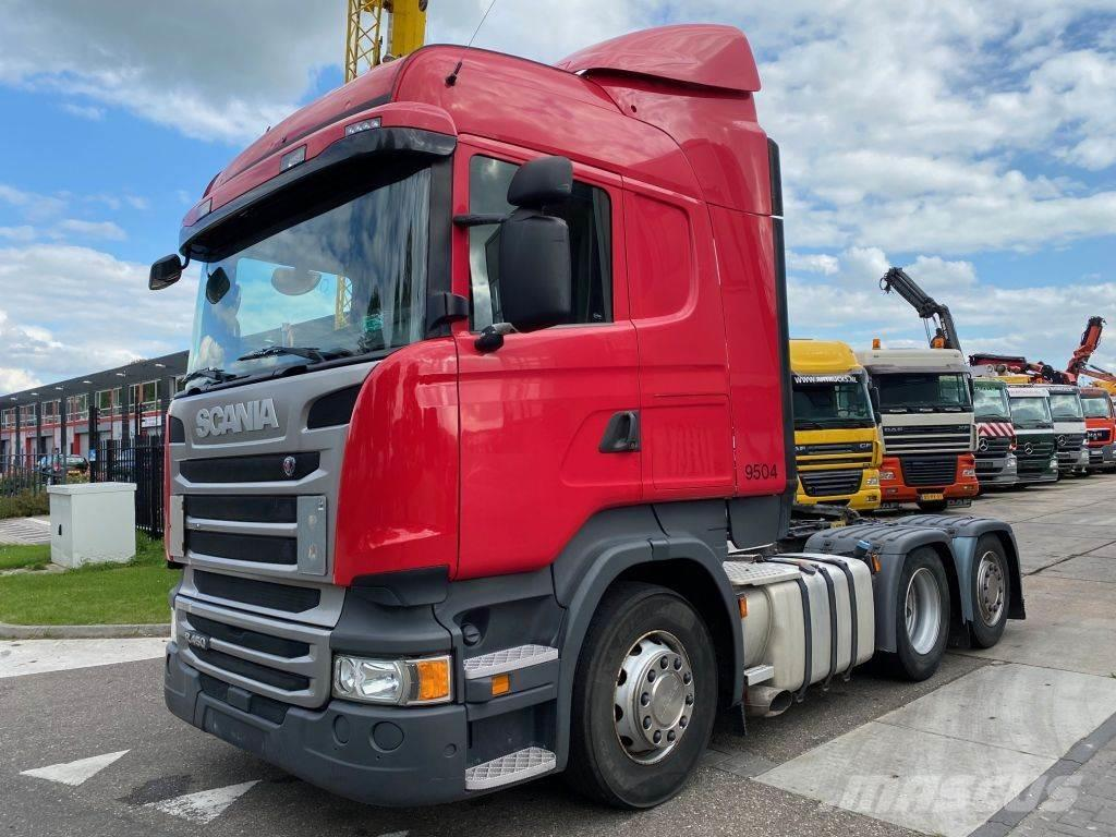 Scania 4 PIECES - R450 6X2 EURO 6 + AD BLUE