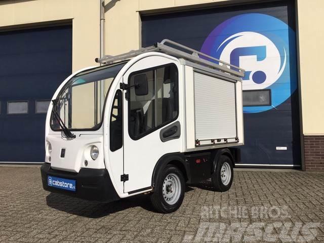 Goupil G3 Elektrische bedrijfswagen met v