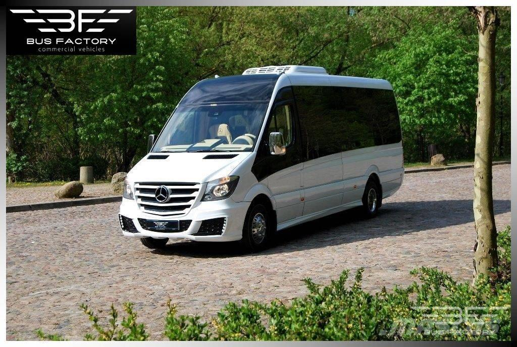 Used mercedes benz sprinter 519 vip 20 1 panoramic front for Mercedes benz vip