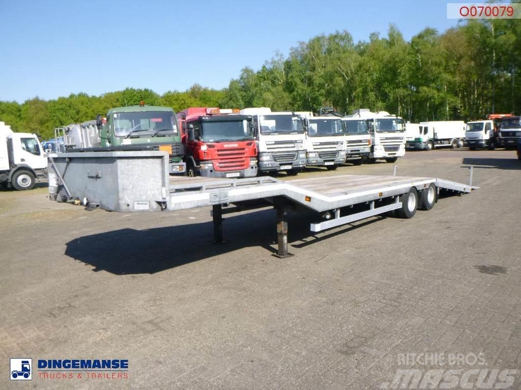 Veldhuizen Semi-lowbed trailer (light commercial) 10 m + winc
