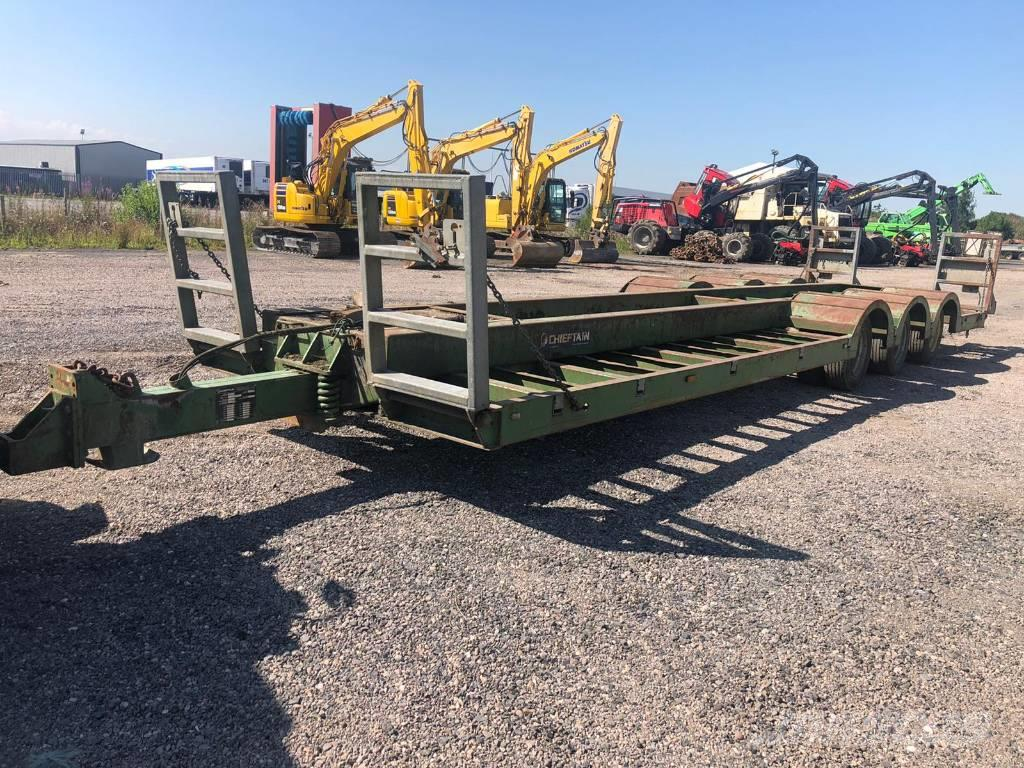 Chieftain Forestry Plant Trailer