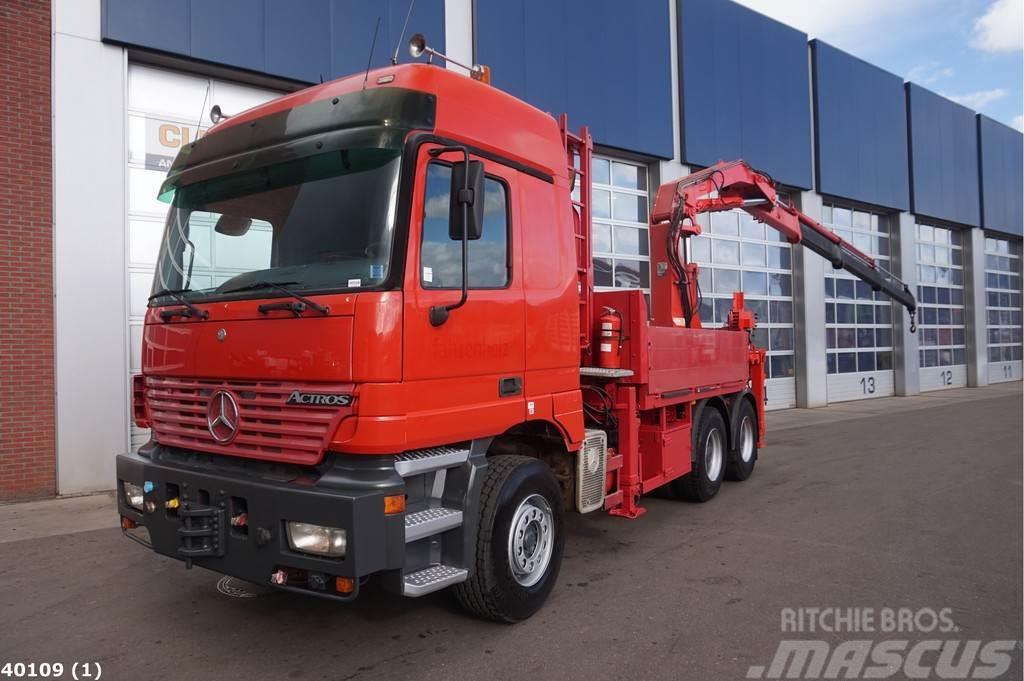 Mercedes-Benz Actros 3353 V8 WSK 6x4 Atlas 30 ton/meter laadkraa