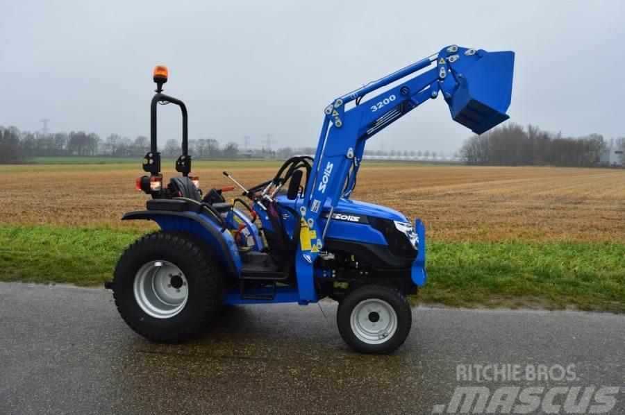 Solis 26 4WD minitractor + frontlader NIEUW €204.- LEASE