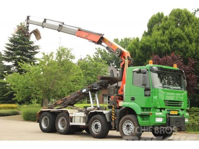 Iveco Trakker 8x4 KRAAN/KABEL!