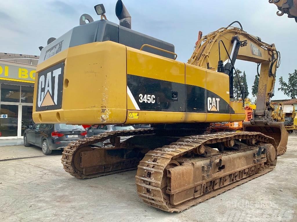 Caterpillar 345CL w. Hammer lines ** CE & EPA