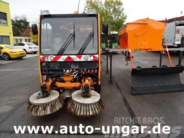 Ladog T1400 4x4x4 Kehrmaschine mit Winterdienstpaket