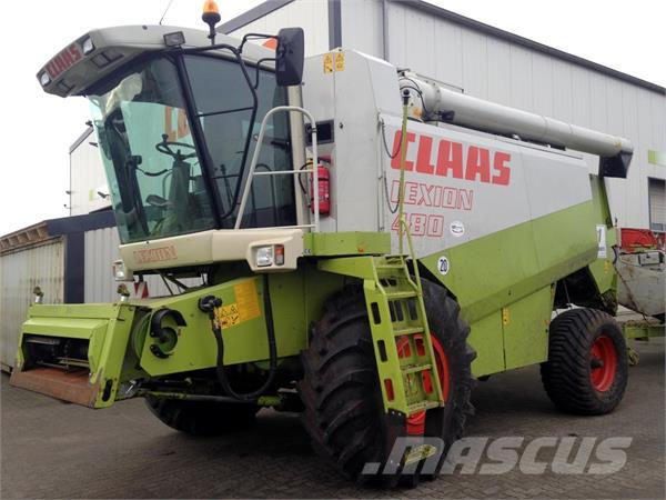CLAAS Lexion 480 CAC + 6,60m SW + TW + Raps-Schneidwerk
