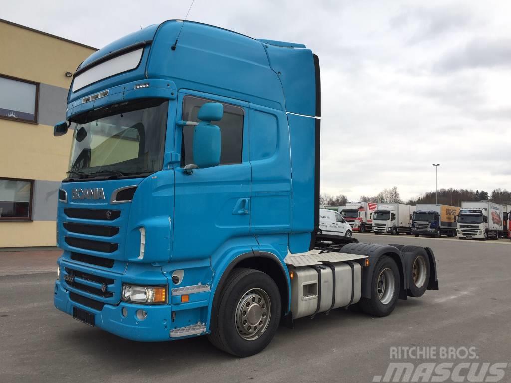 Scania R500 6x2 +EURO5+RETARDER
