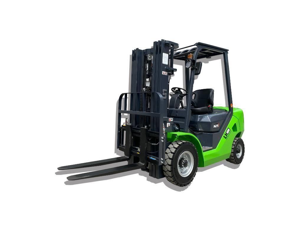 UN Forklift FB25 2.5T Diesel Converted Lithium Battery ZAPI