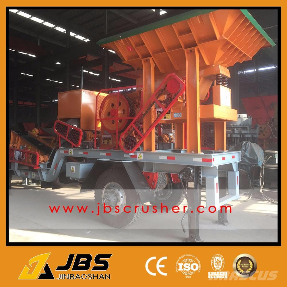 JBS YDP2540 mobile diesel engine crushing plant