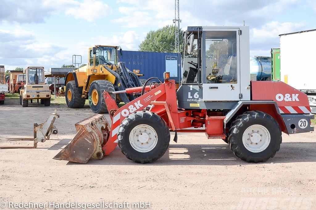 O&K L8-1 Gabel/Schaufel Schnellw Motor+Reifen NEU