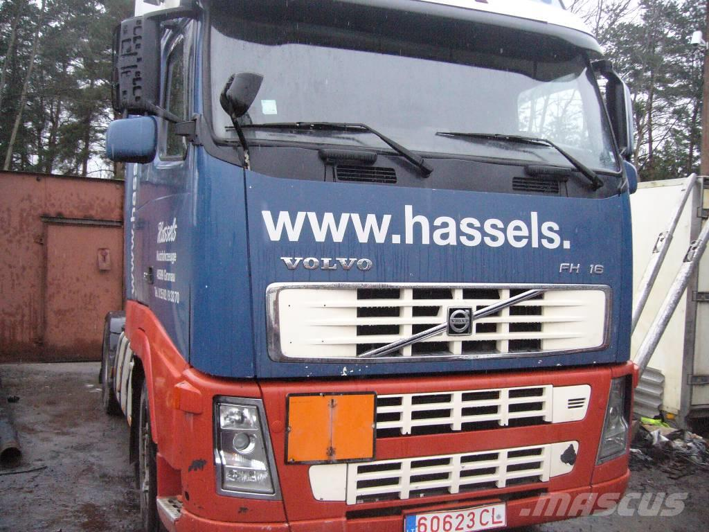 used volvo fh16 d16c year 2005 for spare parts box trucks year: 2005